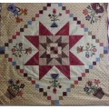 Authentic mystery quilt verano 2014 mistery (patron digital)